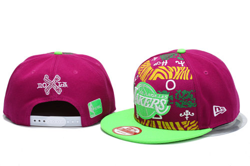 Los Angeles Lakers Snapback Hat YS